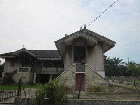 Bangunan istana Kerajaan Padang