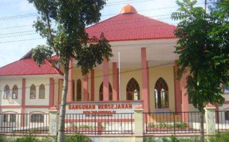 Istana Indra Sakti, Tanjung Balai. Kerajaan Asahan