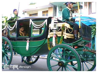 Paku Alaman. Kereta Kyai Manik Brojo. Paku A. Kereta dari masa pemerintahan Paku Alam I atau sekitar tahun 1812-1829.
