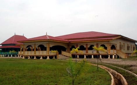 Istana Sayap, kerajaan Pelalawan