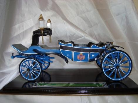 Kereta Roto biru. Yogyakarta