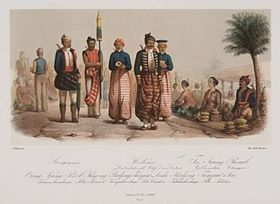 Gambaran raja Surabaya yang direka pelukis Belanda 1860