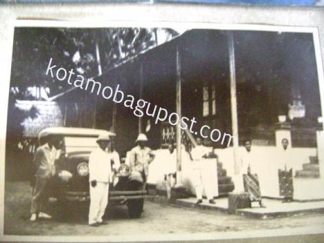 Kaidipang, Sulawesi - Situasi Di Istana Kerajaan Kaidipang Besar Tahun 1925