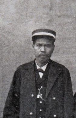 Tagulandang - Radja Salmon Bawole of Tagulandang,who ruled 1885-1901 -- Geerdink