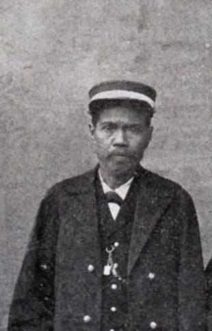 Tagulandang - Radja Salmon Bawole of Tagulandang,who ruled 1885-1901 -- Geerdink