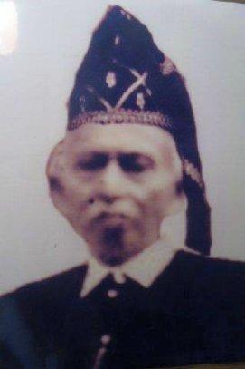 Kerajaan Tojo. Magau Muslaini of Tojo, 1907-27. Sumber foto Hidayat MusLaini, FB