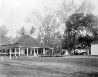 Rumah Controleur Belanda di Pulau Selayar (1900-1940), kini menjadi Rumah Jabatan Bupati Kepulauan Selayar