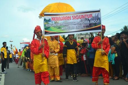 peserta dari kerajaan Siguntur Dharmasraya