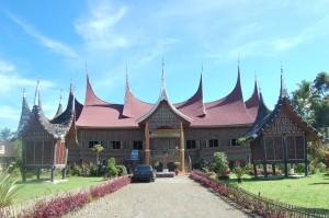 Rumah Gadang Talu yang akan diresmikan