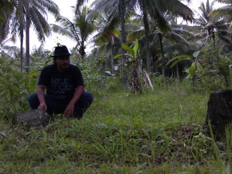 Situs makam prajurit P.Tawang alun