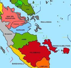 Negeri-negeri Melayu di Tengah dan Selatan Sumatera