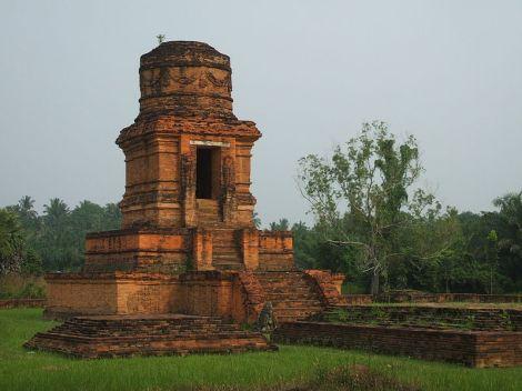 Candi Bahal I, di Padang Lawas, Sumatera Utara. Salah satu peninggalan Kerajaan Pannai.