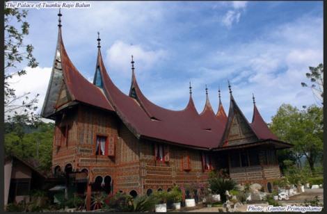 Ustano Balun, yaitu Istana dari salah satu Raja nan Empat yang ada di Alam Surambi Sungai Pagu ini, Daulat yang Dipertuan Tuanku Rajo Bagindo, Raja Adat Alam Surambi Sungai Pagu.