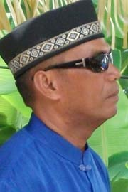 M Idrus, keturunan Daeng Olok atau Tenggolok asal Kerajaan Sengkang Sulawesi Selatan yang hijrah ke Karimun pada tahun 1862 akibat dikejar-kejar Belanda yang menjajah. (foto kepri.antaranews.com/Rusdianto)