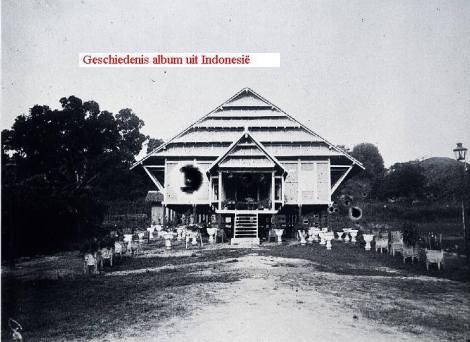 Rumah kediaman penguasa setempat di Sengkang tahun 1930