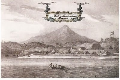 Manado, Sulawesi - Fort Amsterdam.