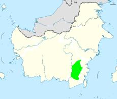 Wilayah terakhir Kesultanan Banjar antara tahun 1826-1860