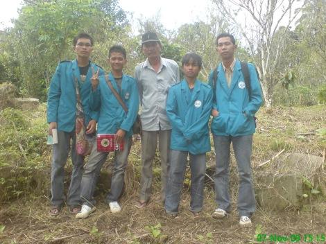 Bersama Pak Sembiring, Keturunan terakhir dari Sibayak Sarinembah.