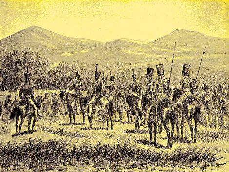 bone 1 - Pasukan Belanda sedang menyerbu Bone.