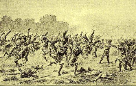 bone 1859 - Serbuan kavaleri ke Bone.