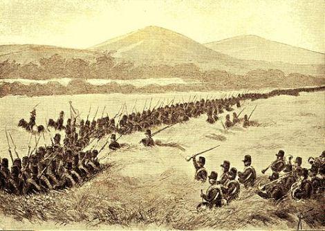 Batalyon VII maju dalam serangan ke Bali