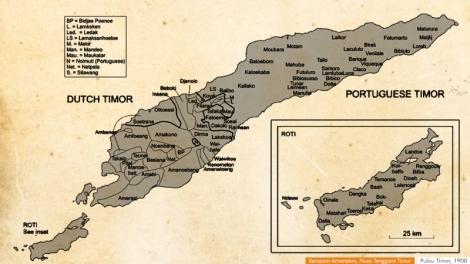 Kerajaan-kerajaan Timor dulu