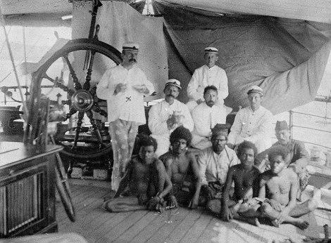 Raja Pandai dari Sekar ditangkap, ca. 1898