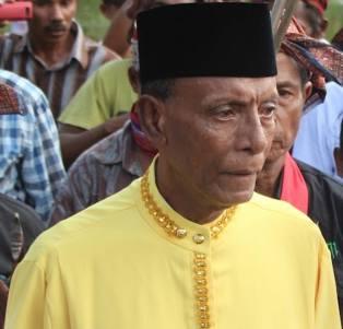 Kaiely, P. Buru, Maluku - Kerajaan Kaiely. July 2012, penobatan Raja Fuad Wael dari Kaiely, penguasa tradisional di P. Buru.