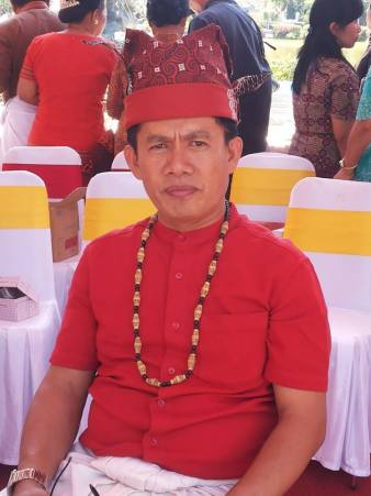 The puang raja of Sangalla, one of the main kings of Tanah Toraja.
