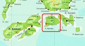 Lokasi Haruku
