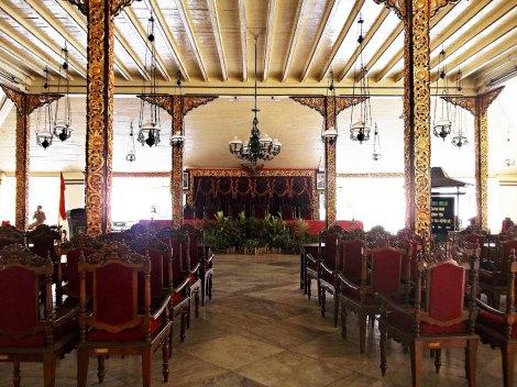 Bangunan Pendopo Agung Keraton Sumenep