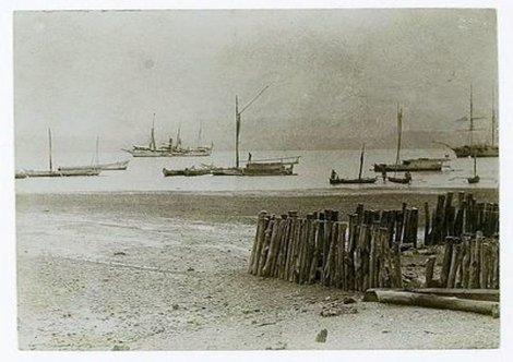Pelabuhan Donggala, 1916.