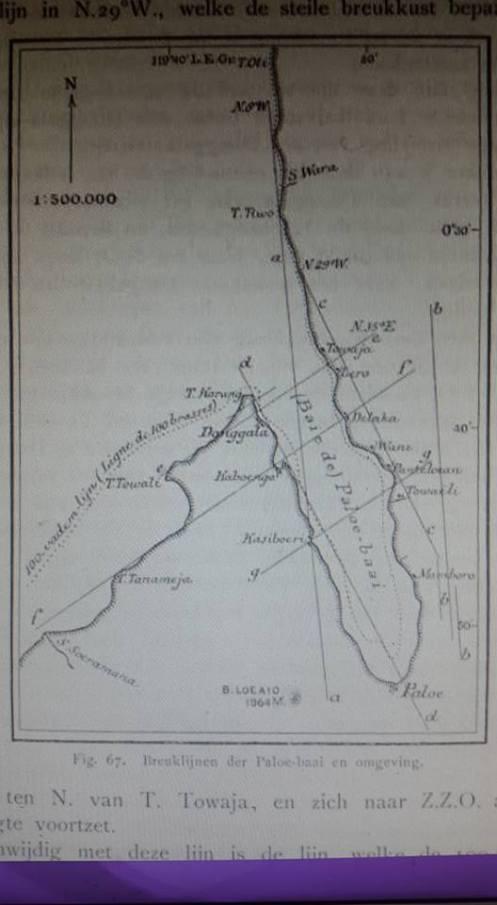 Donggala, peta, 1915. Sumber: pramaaartha pode, FB