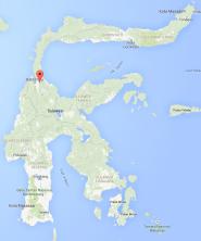 Lokasi kabupaten Sigi