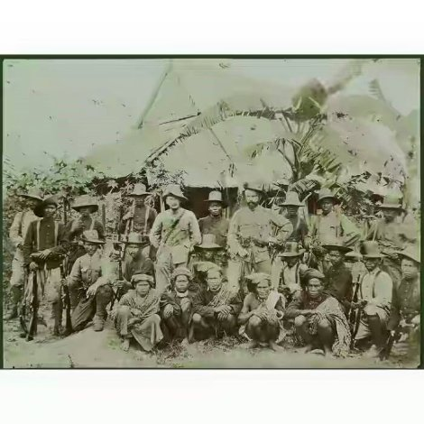 Penangkapan Oemana oleh Letnan Badings di Watoetaoe