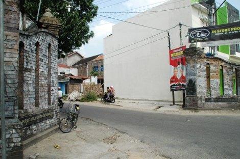 Tembok peninggalan keraton Kartasura