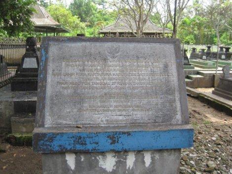 Prasasti di Kraton Kartosuro