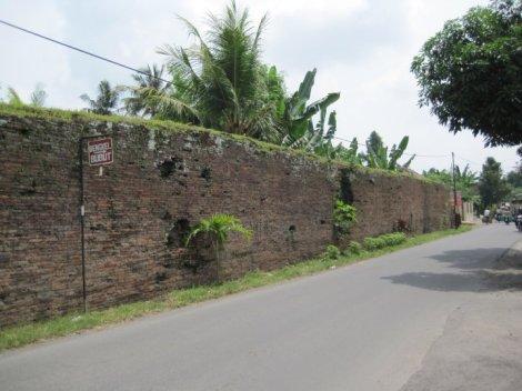 Tembok Keraton Kartasura