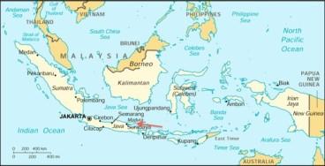 Lokasi pulau Madura