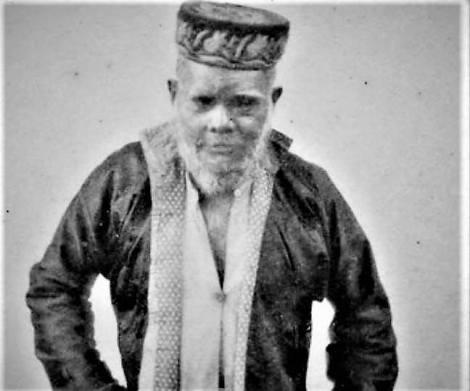Raja Niroen (Nirun), kepulauan Kei) ca 1892.