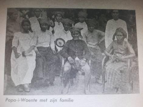 Pebato - Pebato - Papa I Wunte, Ine i Maseka, Maseka dan keluarga Besar lainnya.